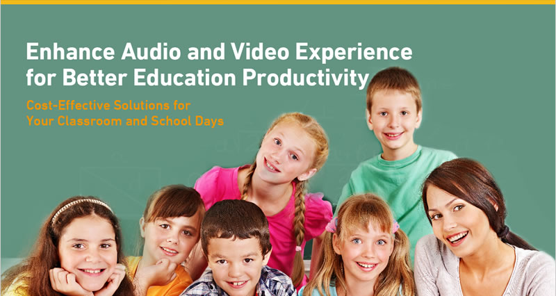 Enhance Audio and Video Experience